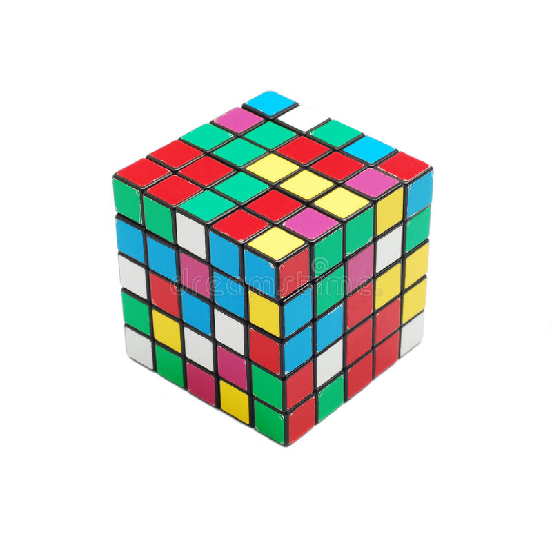 Rubik cube stock illustration