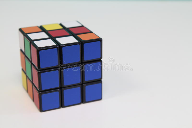 Rubik Cube royalty free stock photos