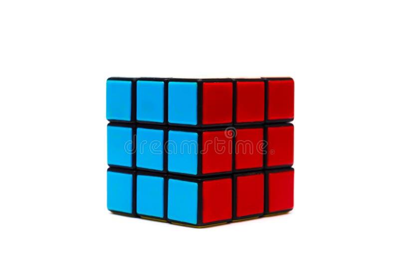 Rubik s立方体 库存图片
