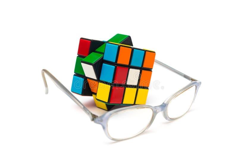 Rubik s立方体 免版税库存图片
