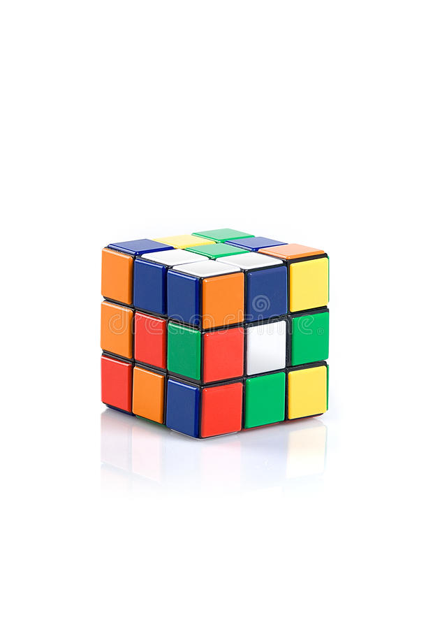 Download Rubik's Cube editorial stock photo. Image of color, code - 16250458