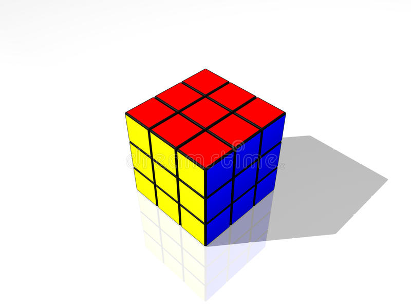 Rubik's Cube stock illustration