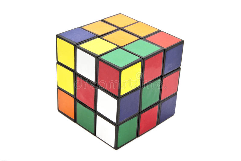 Download Rubik's Cube editorial stock photo. Image of colorful - 22737683