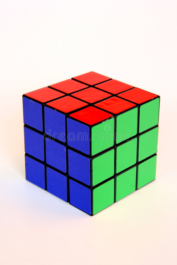 Download Rubik's cube editorial stock photo. Image of colourful - 8091533