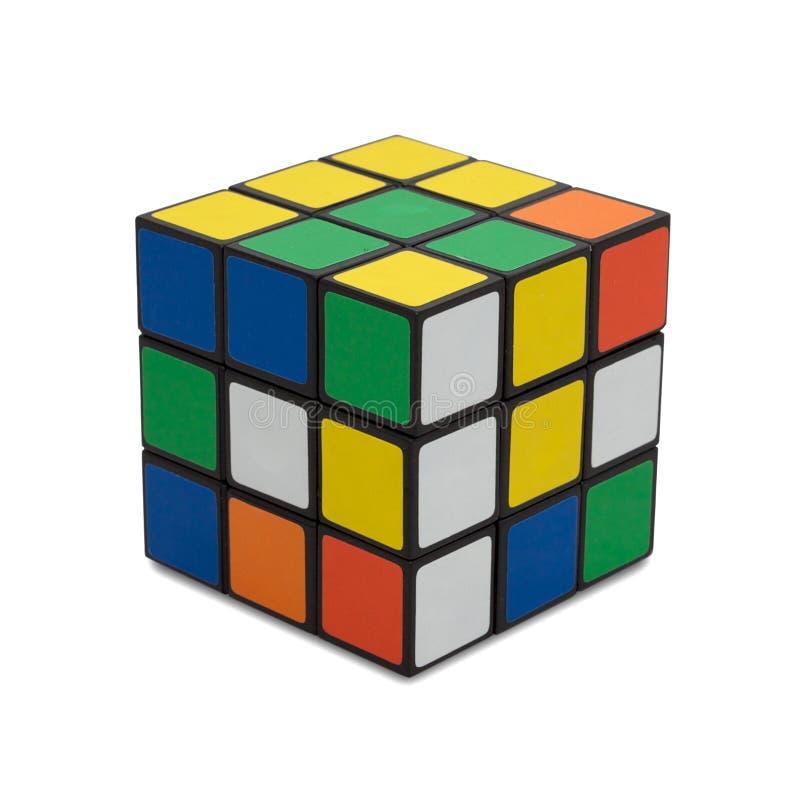 Rubiks Würfel lizenzfreie stockfotos