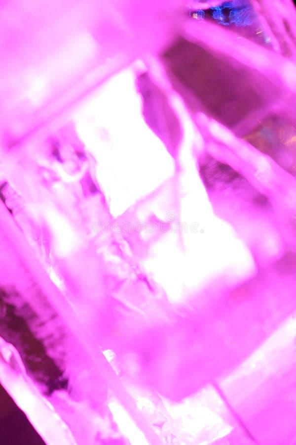 Rubino del ghiaccio fotografia stock