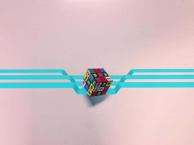 Rubix sześcian obraz stock