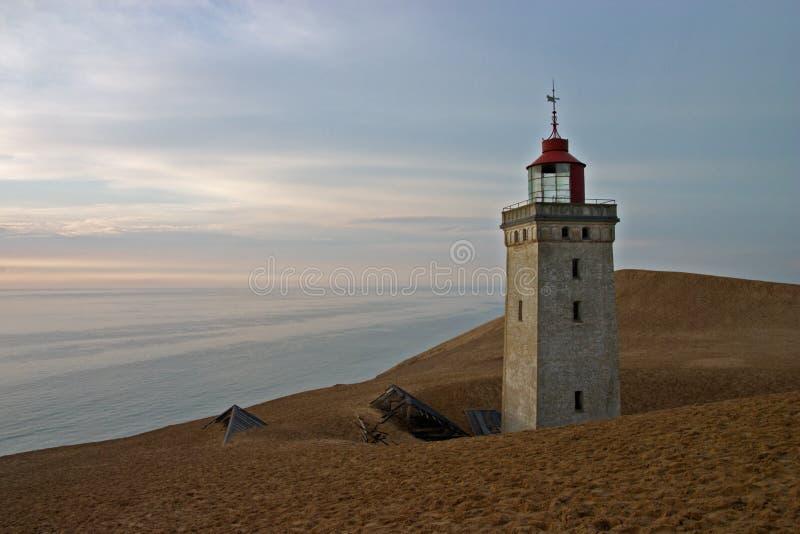 rubjerg дома светлое стоковое изображение rf