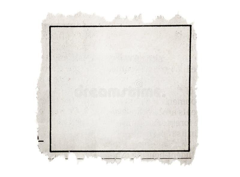 Rubriekadvertentie royalty-vrije stock afbeeldingen