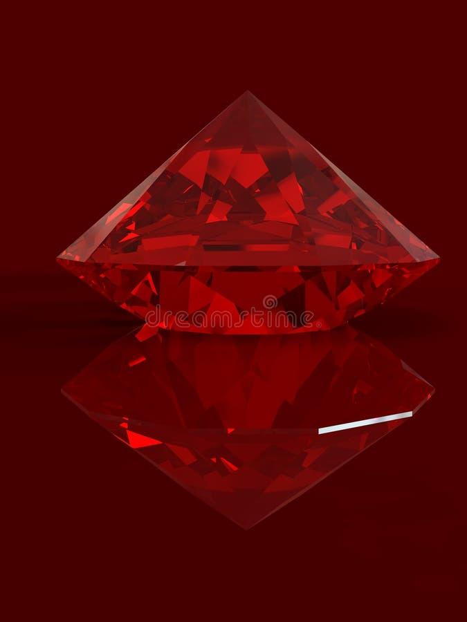 Ruby royalty free illustration