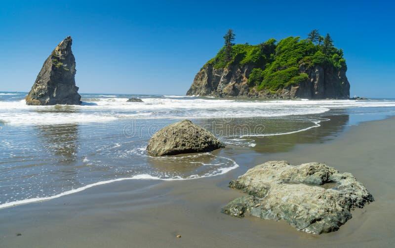 Ruby Beach imagens de stock