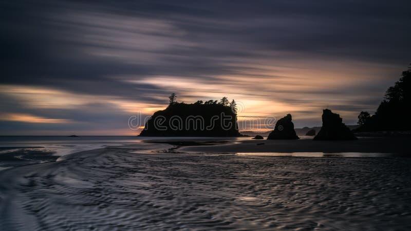 Ruby Beach fotografia de stock