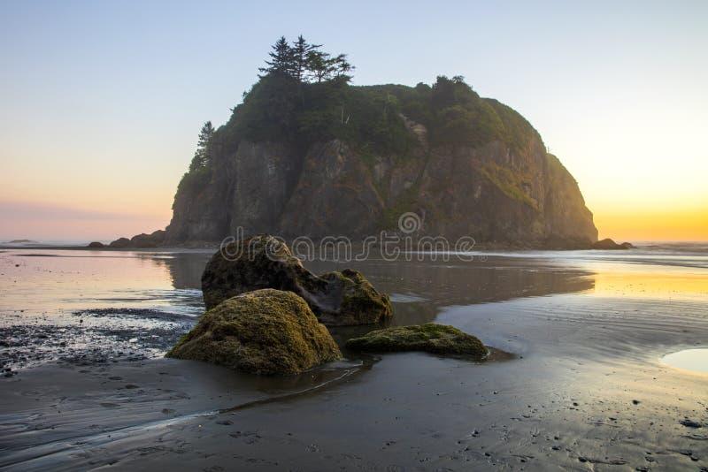 Ruby Beach Washington stock photo