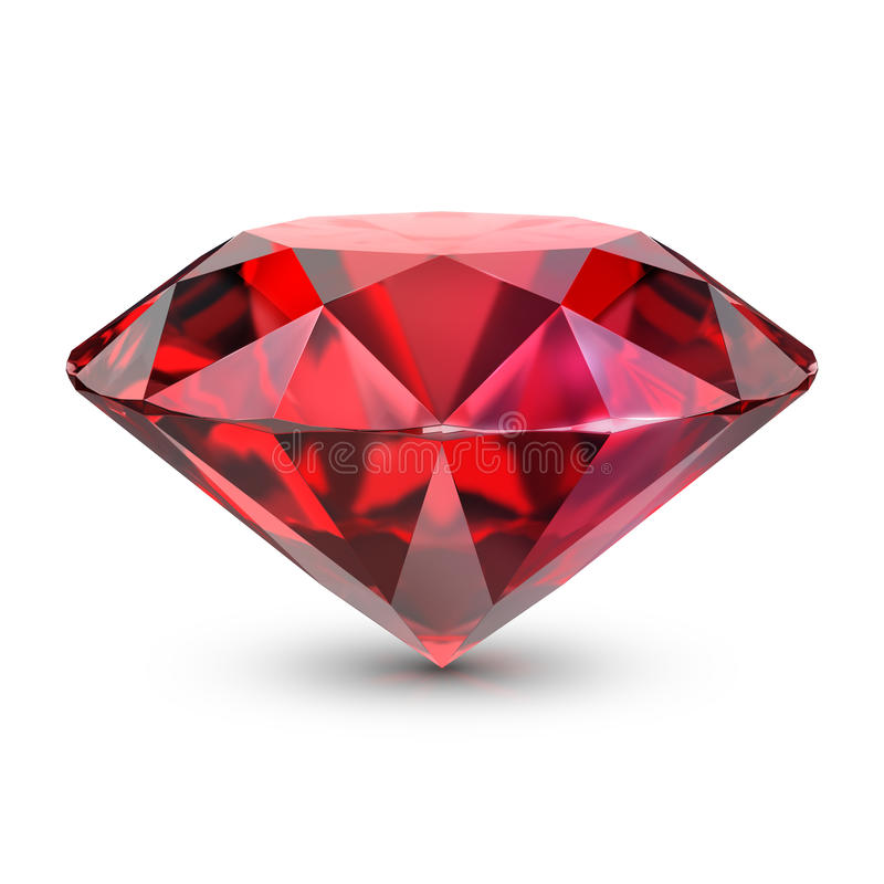 Download Ruby stock illustration. Image of carat, gemstone, rich - 91438622