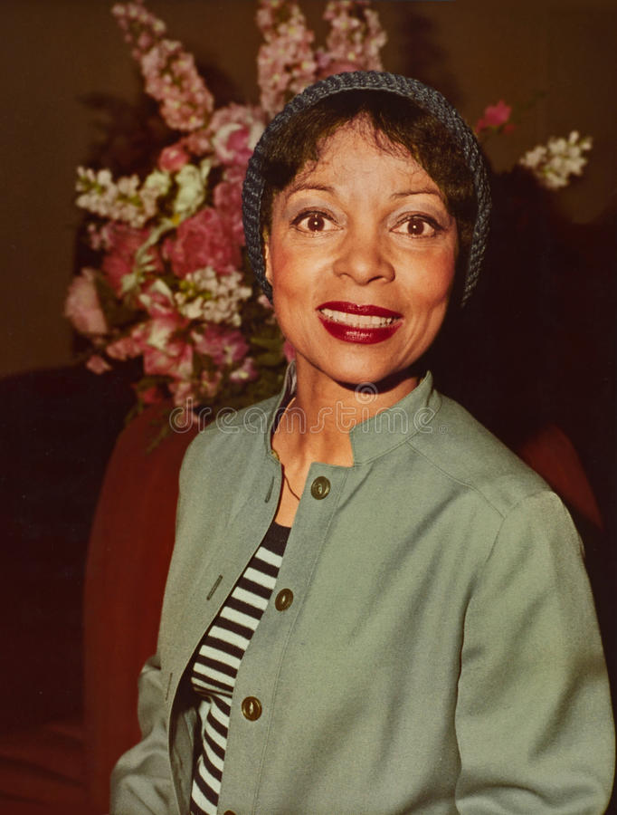 Ruby Dee photo stock