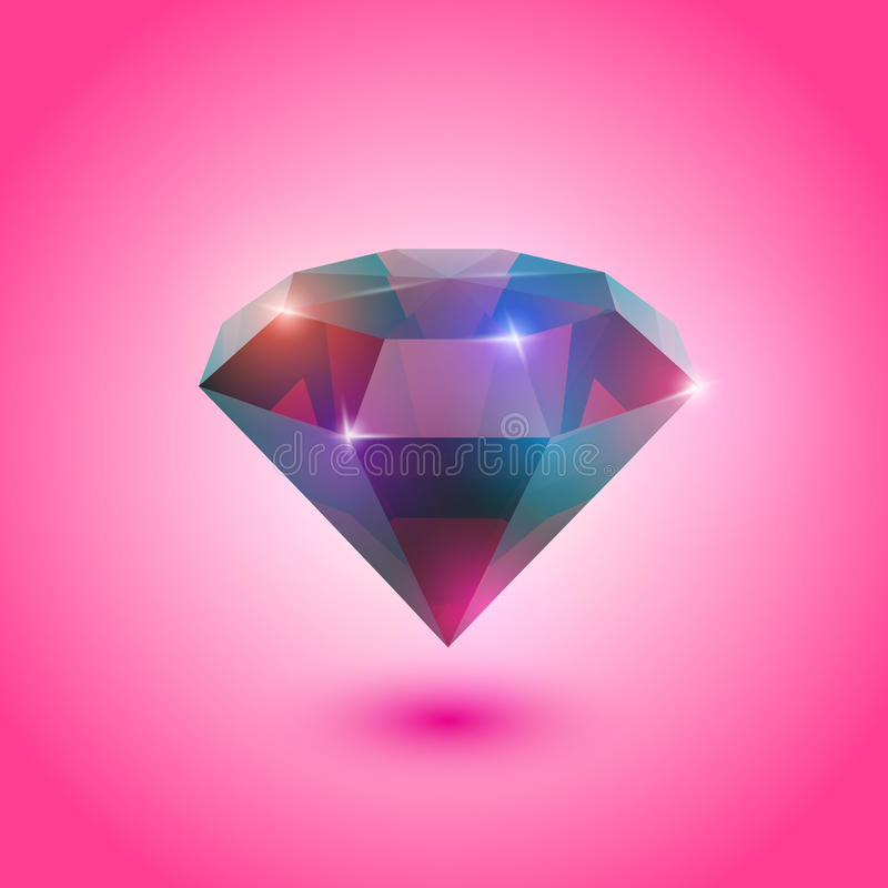 Download Ruby gem stock vector. Image of precious, gemstone, jewelry - 27035003