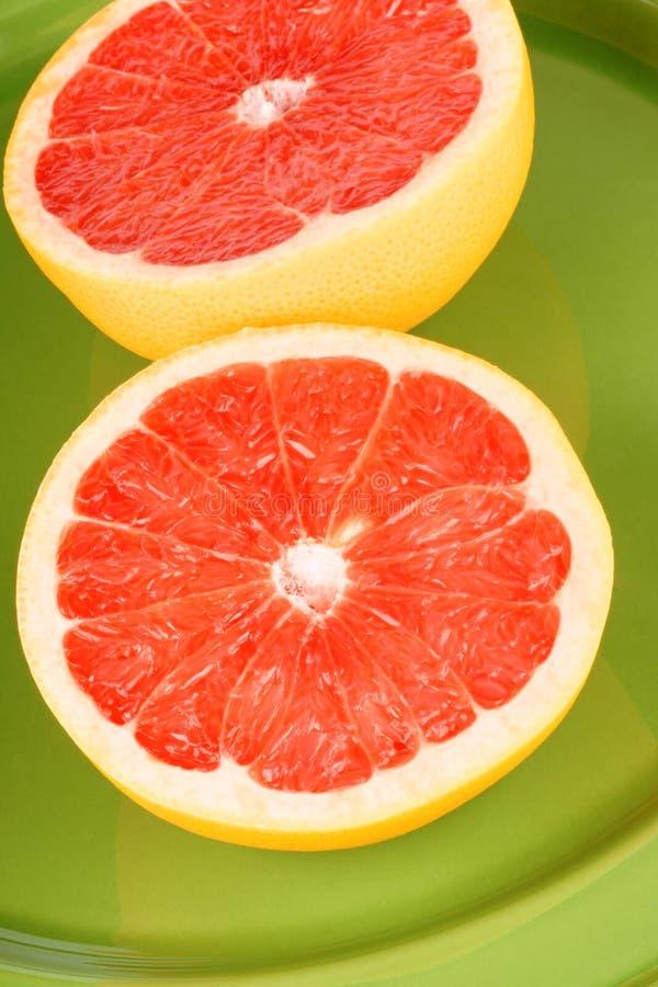Ruby grapefruit close-up