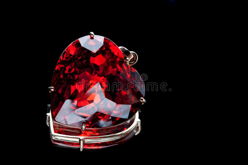 Download Ruby Heart-shaped Precious Stone Stock Image - Image of luxury, glamour: 19927561