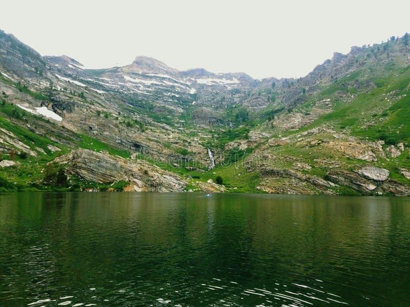 Ruby Mountain Lake fotografia stock