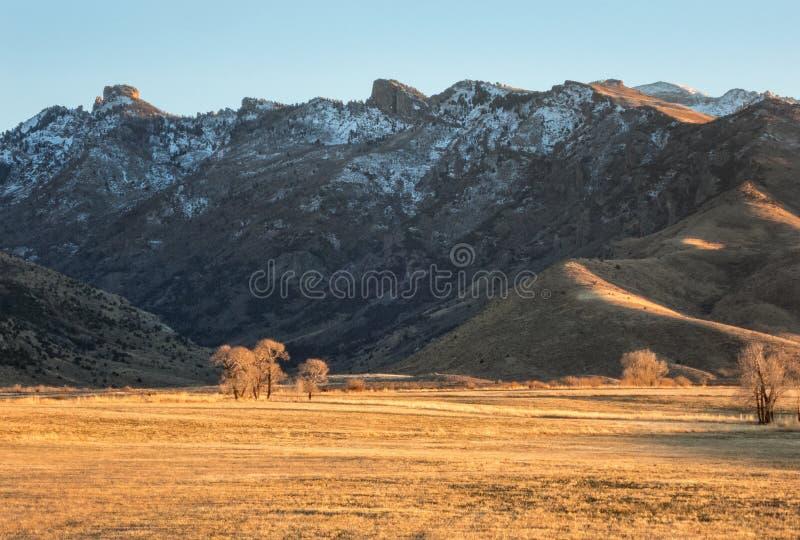 Ruby Mountains, Elko County Nevada fotos de stock