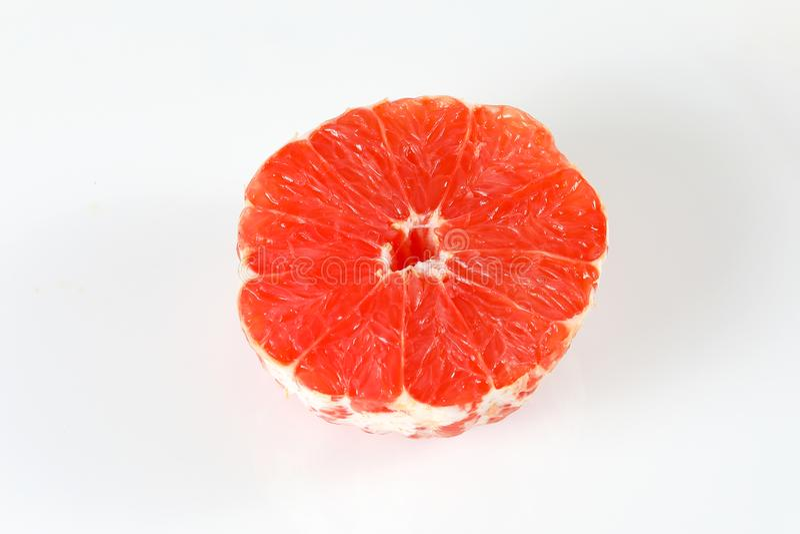 Ruby Red Grapefruit Slice stock afbeeldingen