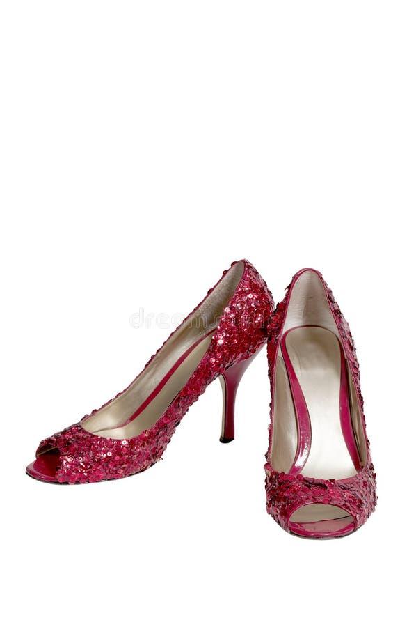 Ruby Shoes immagine stock libera da diritti