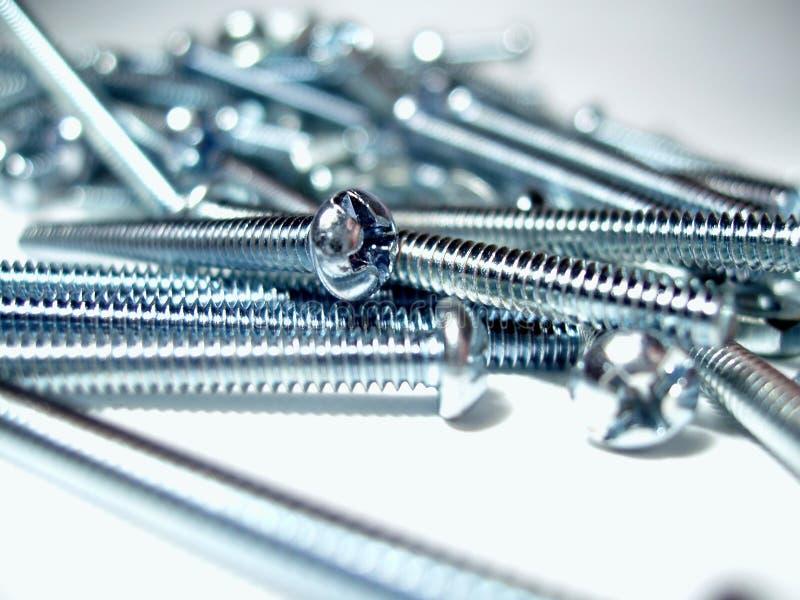 Download śruby srebra zdjęcie stock. Obraz złożonej z stal, błyszczący - 48178