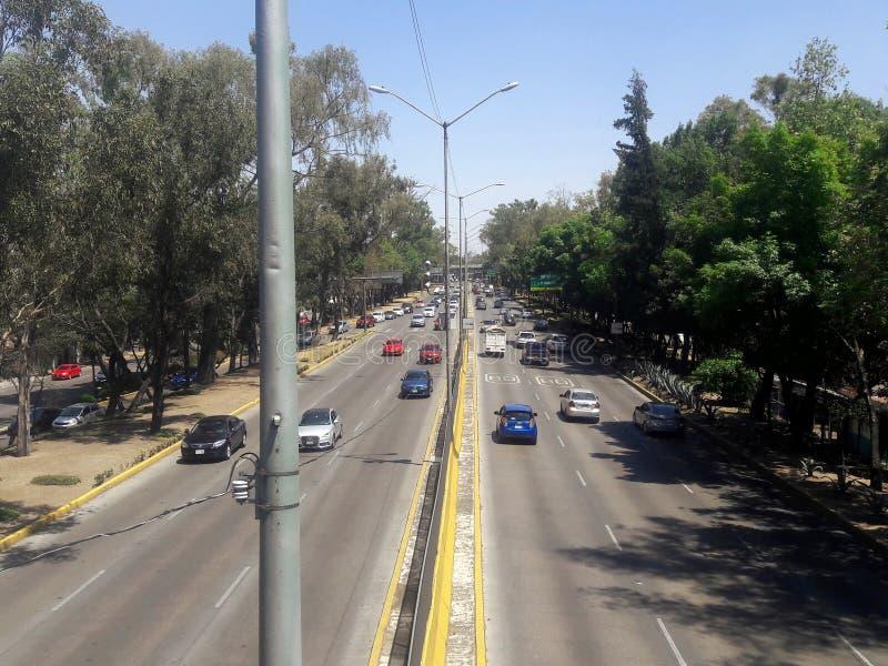 Ruchów drogowych dżemy w wiejskiej metropolii w Buenos Aires obraz royalty free