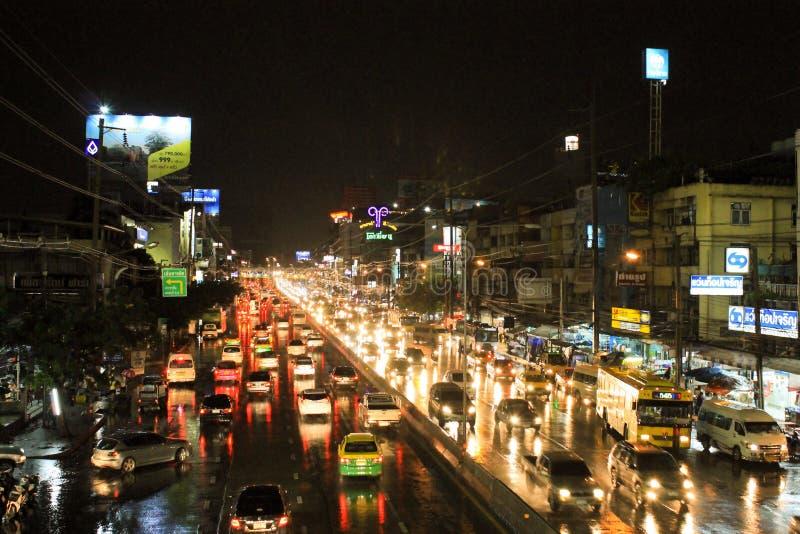 Ruch drogowy Bangkok obrazy royalty free