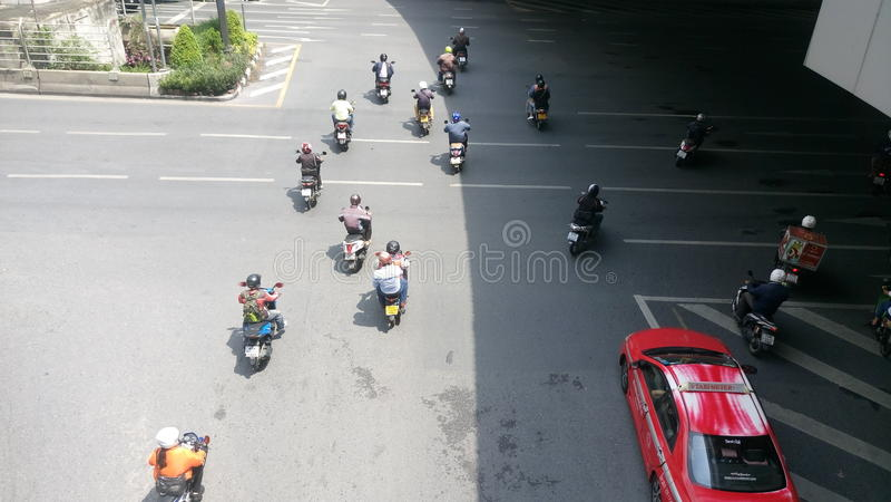 Ruch drogowy i życie obrazy royalty free