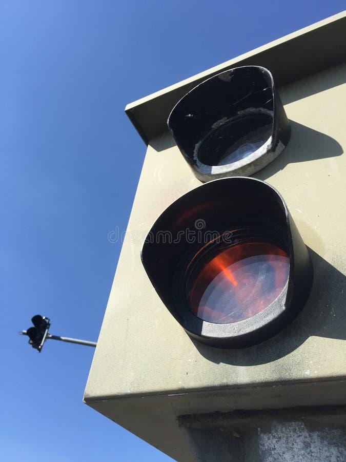 Ruch drogowy kontrola zdjęcie stock