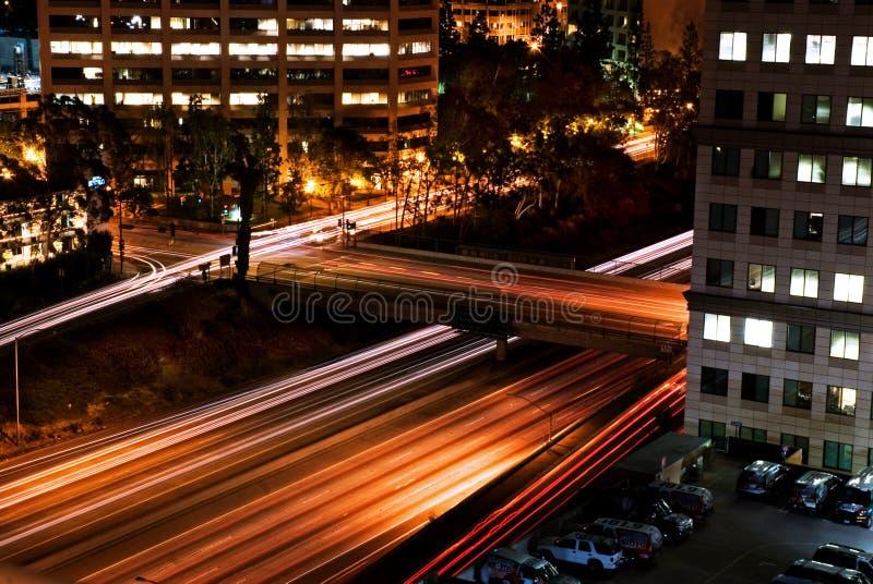 Ruch drogowy pośpiech zdjęcie royalty free