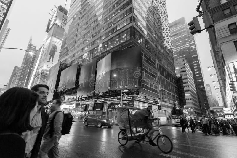 Ruch drogowy w Miasto Nowy Jork środku miasta Manhattan zdjęcia stock