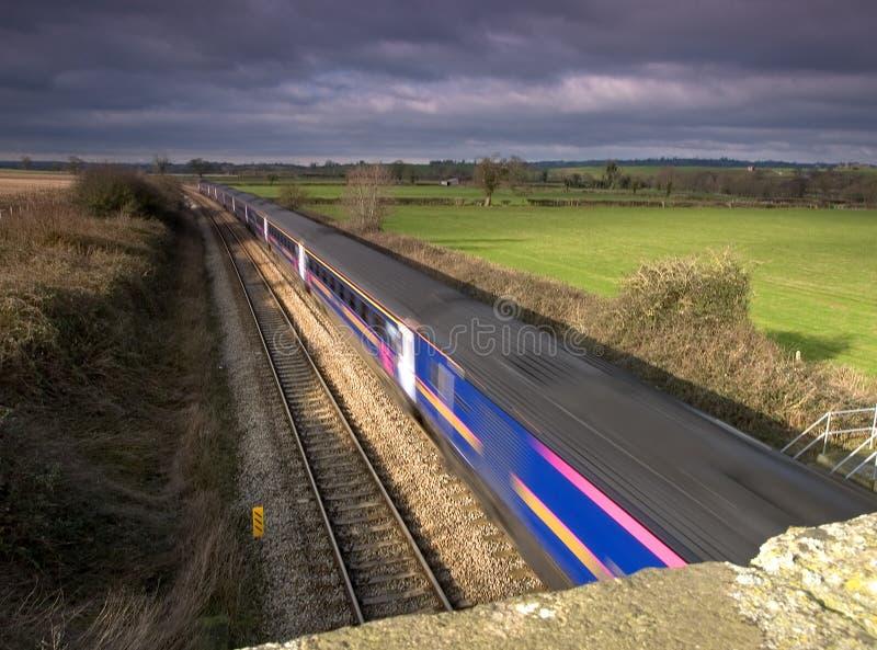 Download Ruch pociągu obraz stock. Obraz złożonej z lokomotywa, journeyer - 132241