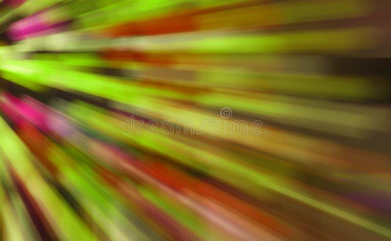 Ruch włókno - wzrokowi światła ilustracji