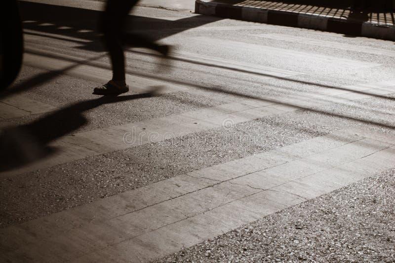 Ruch zwyczajny crosswalk zdjęcia royalty free