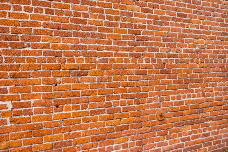 Ruchliwie ściana z cegieł wzór zdjęcie stock