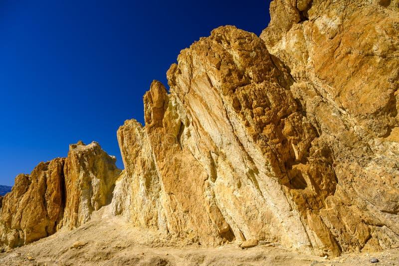 Ruchomy teren, śmiertelny klimat i poza tym światem Te słowa namalują najlepszy obraz Doliny Śmierci zdjęcie stock
