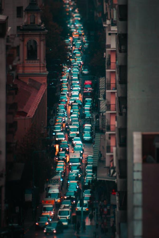 Ruchu drogowego dżem! Pozwala my kołysać nasz wycieczkę zdjęcia stock