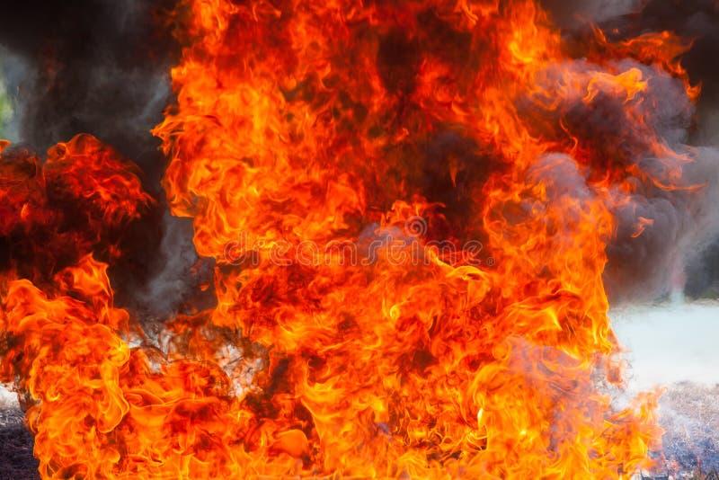 Ruchu płomienia ogień obrazy stock