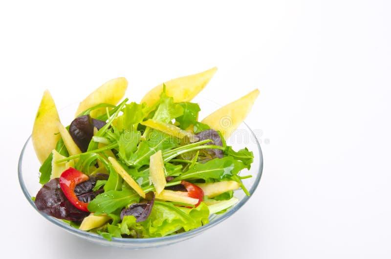 Rucola Salad. Fine-harsh and Mediterranean royalty free stock photos