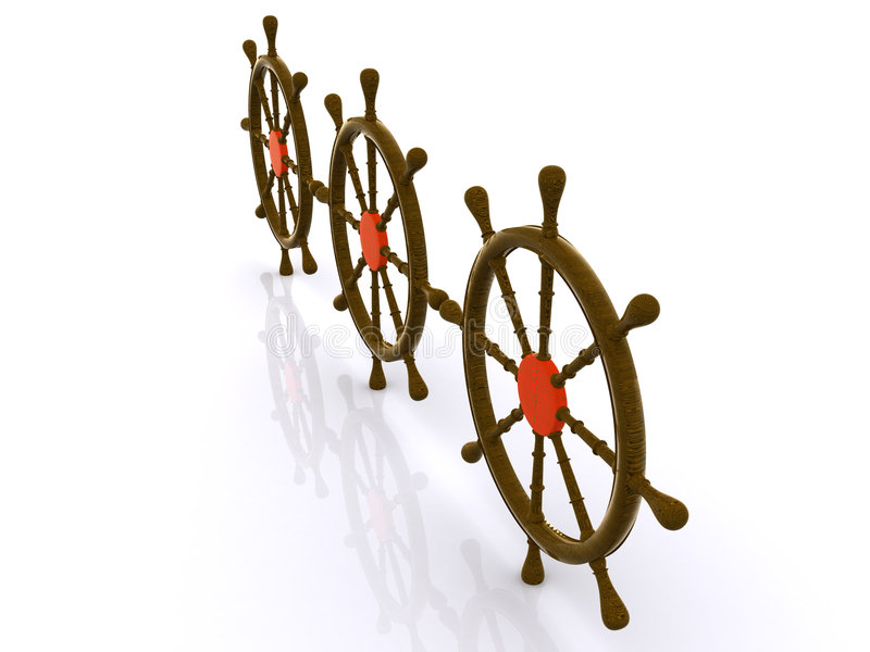 Download Rudder stock image. Image of steering, leadership, wood - 7441565