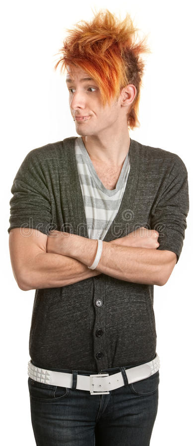 Download Rude Teenager With Folded Arms Stock Photos - Image: 26034303