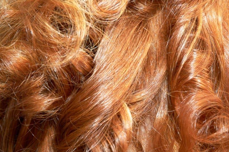 rude włosy zdjęcia royalty free