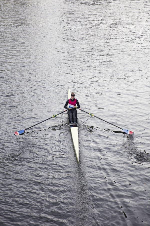 Rudersport in Hannover, Deutschland lizenzfreie stockfotografie