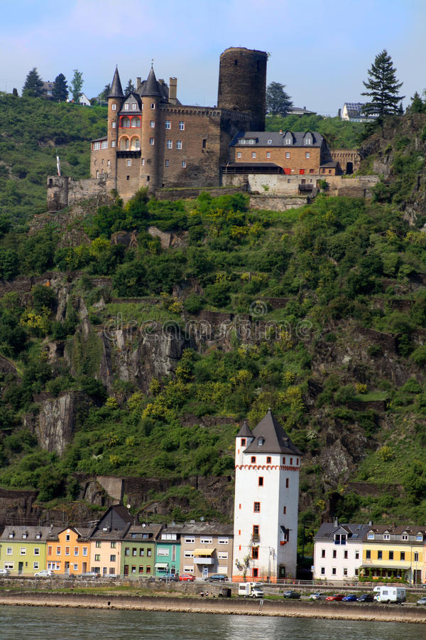 Free Rudesheim Castle Royalty Free Stock Photo - 13845825