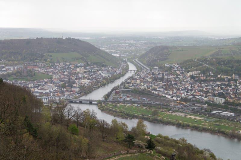 Rudesheim rhein Tyskland arkivfoto