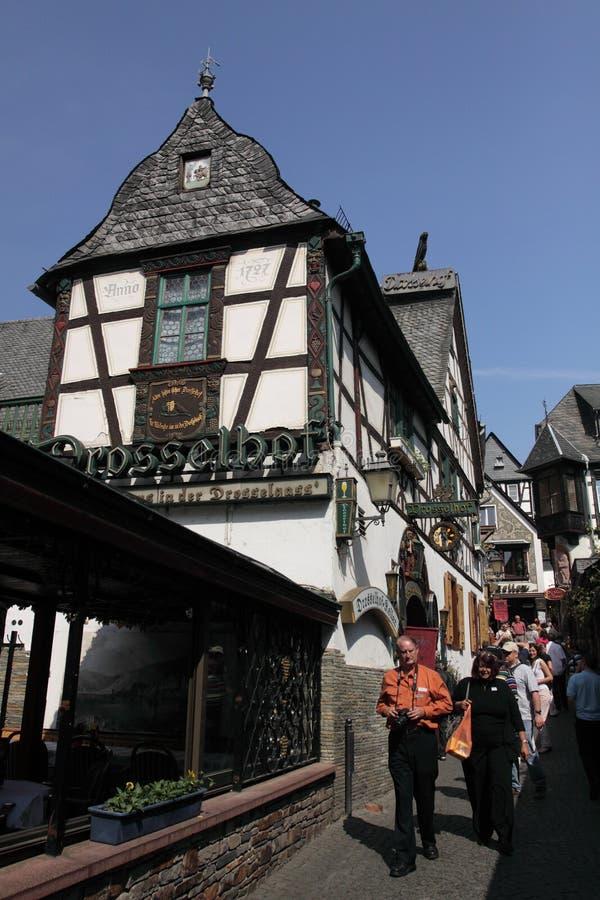 Free Rudesheim Town Royalty Free Stock Photos - 20244078