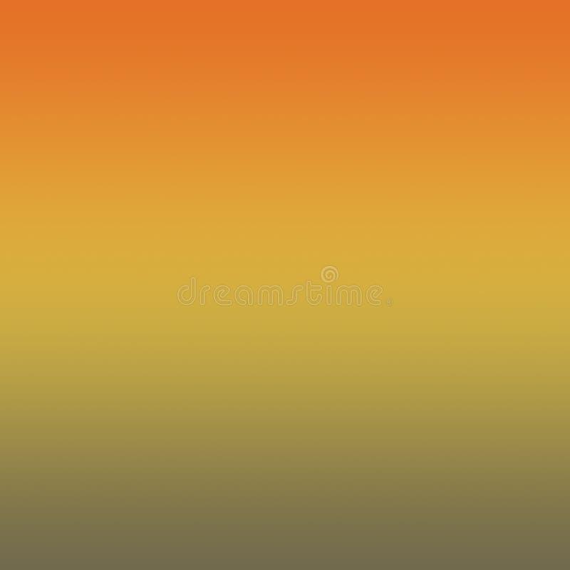 Rudości pomarańcze, Ceylon kolor żółty, Martini Oliwny Gradientowy tło ilustracja wektor