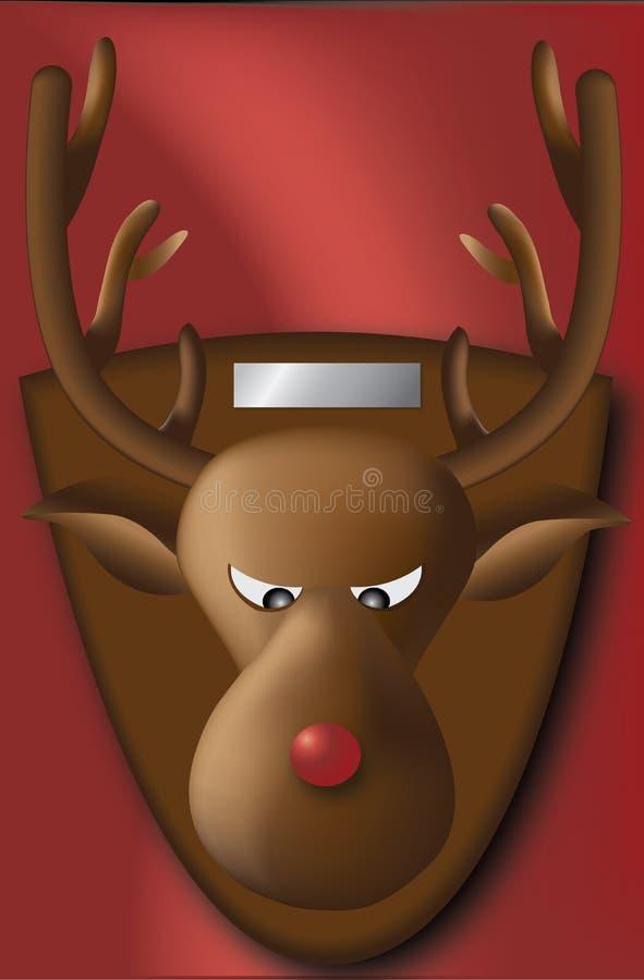 - Rudolf ilustracja wektor